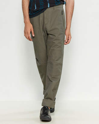 Versace Zip Pocket Relaxed Fit Pants