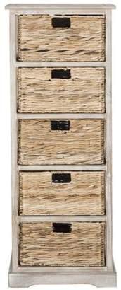 Beachcrest Home Vedette 5 Basket Storage Chest