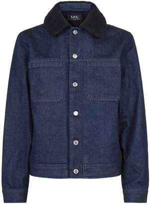 A.P.C. Denim Michigan Jacket