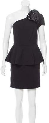 Blugirl Embellished Peplum Dress w/ Tags