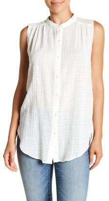 Lucky Brand Cotton Jacquard Shirt