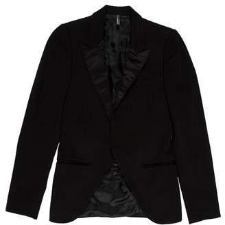 Christian Dior Wool Cutaway Tuxedo Jacket