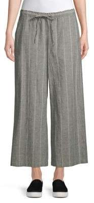 Eileen Fisher Cropped Wide-Leg Pant