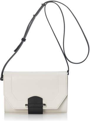 Joanna Maxham Enigma Mini Clutch/Crossbody White