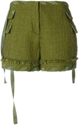 MSGM tie string shorts