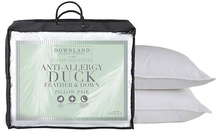 Anti-Allergy Duck Feather And Down Pillows
