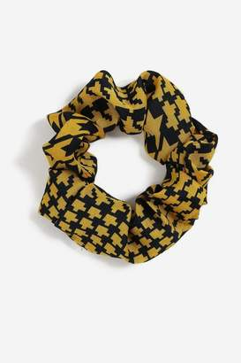 Topshop Womens **Dogtooth Hair Scrunchie