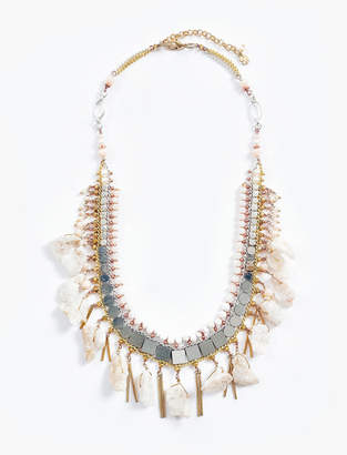 Lucky Brand STONE LAYER NECKLACE