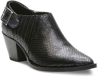 The Kooples Women's Studded Python-Embossed Leather Ankle Boots