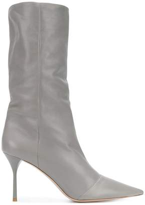 Miu Miu pointed toe stiletto boots