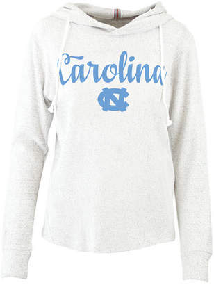 Pressbox Women North Carolina Tar Heels Cuddle Knit Hooded Sweatshirt