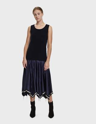 J.W.Anderson Umbrella Skirt Knit Tank Dress
