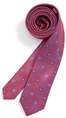 Boy's Michael Kors Medallion Silk Tie $36 thestylecure.com