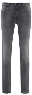 HUGO BOSS Cotton Jeans, Skinny Fit Hugo 734 32/32 Grey