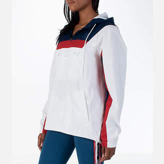 Reebok Women's Classics Cotton Anorak Sweatshirt