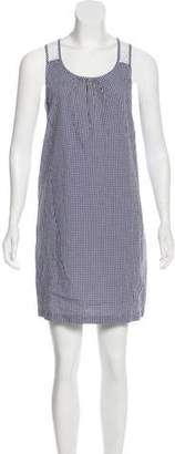 Steven Alan Gingham Mini Dress