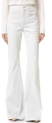 Derek Lam Flared Trouser Jeans $650 thestylecure.com