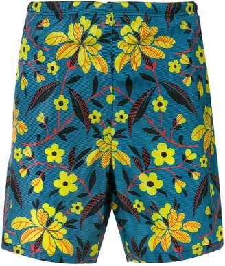 Prada floral swim shorts