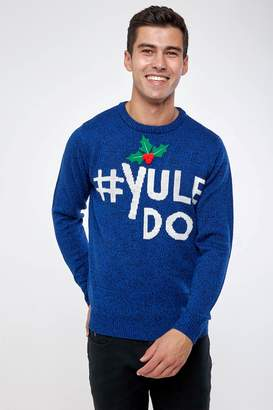 Next Mens Broken Standard Novelty Christmas Jumper