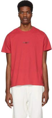Rag & Bone Red Universal T-Shirt