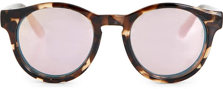 Le Specs Hey Macarena tortoiseshell round-frame sunglasses
