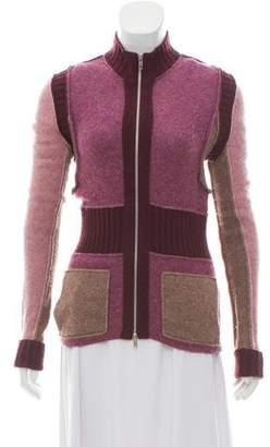 Sonia Rykiel Sonia by Merino Wool Knit Cardigan