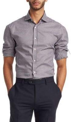 Brunello Cucinelli Plaid Button-Down Shirt