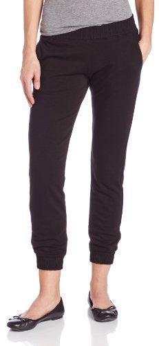 Monrow Women's Ponte Skinny Sweat Pants