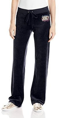 Juicy Couture Black Label Women's Logo Jc Collegiate Vlr Orig Pant $138 thestylecure.com
