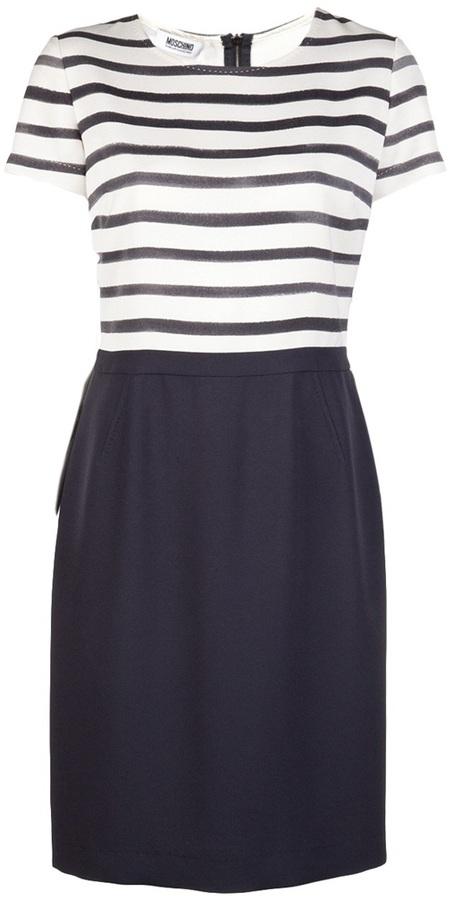Moschino Cheap & Chic Skirted dress