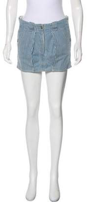 Isabel Marant Stripe Mini Skirt