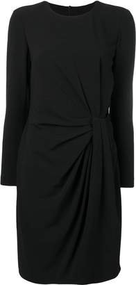 Moschino draped-front dress