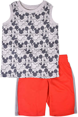 DISNEY MICKEY MOUSE Disney 2-pc. Mickey Mouse Short Set Toddler Boys