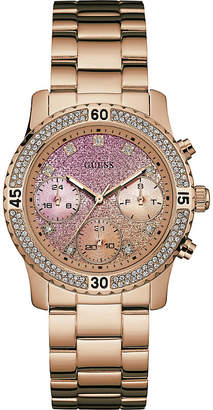 GUESS w0774l1 confetti stainless steel watch