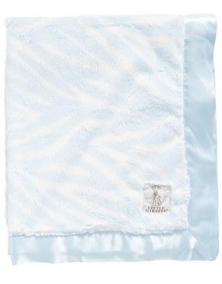 Little Giraffe Luxe(TM) Zebra Print Blanket $90 thestylecure.com