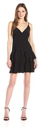 KENDALL + KYLIE Women's Ruffle Slip Dress, L