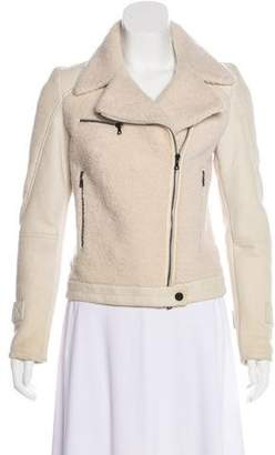 Drome Shearling Leather Jacket