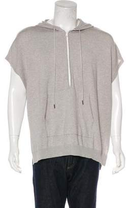 ATM Anthony Thomas Melillo Sleeveless Knit Oversize Hoodie w/ Tags