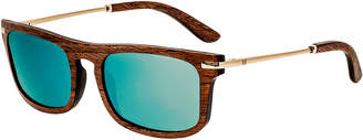 Earth Wood Men's Queensland 42Mm Polarized Sunglasses