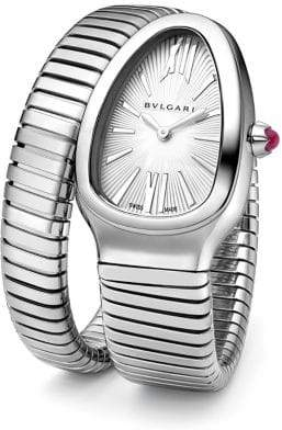 Bvlgari Serpenti Tubogas Stainless Steel Single Twist Watch