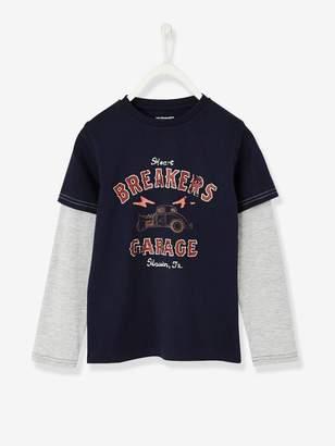 Vertbaudet 2-in-1-Effect Sweatshirt for Boys