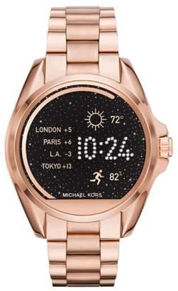 Michael Kors ACCESS MICHAEL Bradshaw Access Bracelet Smart Watch, 45mm