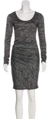 Rag & Bone Scoop Neck Knee-Length Dress