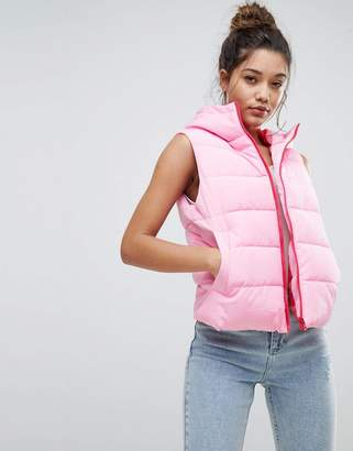 Asos Padded Vest Jacket