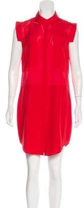 Alexander Wang Silk-Blend Mini Dress