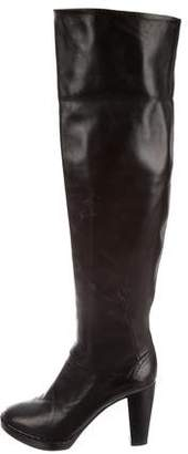 CNC Costume National Leather Platform Boots