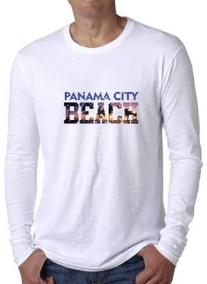 City Beach Hollywood Thread Panama Spring Break Vacation Men's Long Sleeve T-Shirt