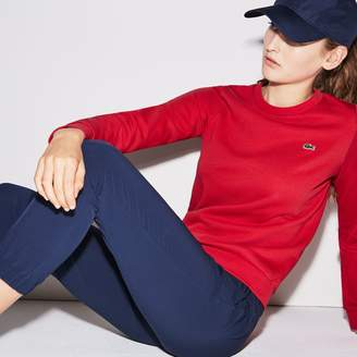 Lacoste Women's SPORT Tennis Cotton Fleece Sweatshirt