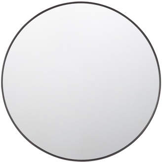 Rejuvenation Round Metal Framed Mirror