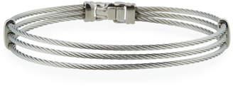 Alor Three-Row Split Cable Bangle